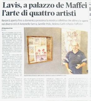 articolo su Trentino